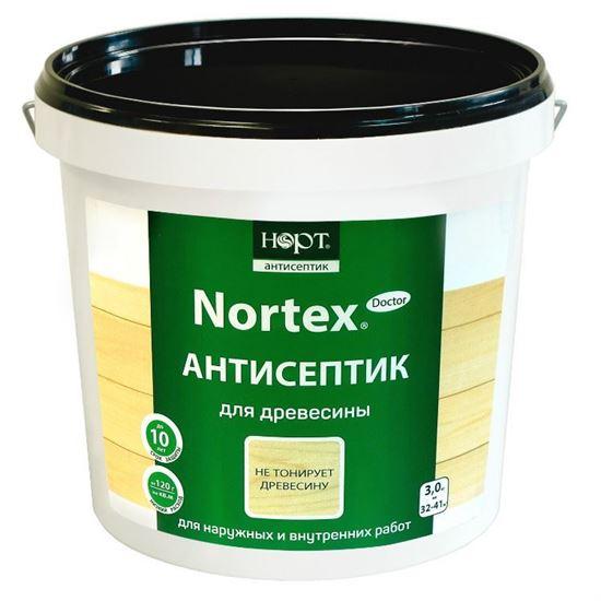Изображение Антисептик «Nortex®»-Doctor для древесины, 3 кг.