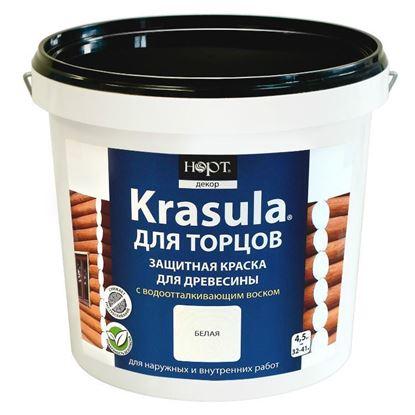 Изображение Защитная краска «KRASULA®» для торцов, 4.5 кг.